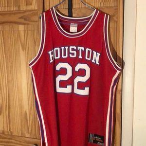 Houston Clyde Drexler jersey. Stitched